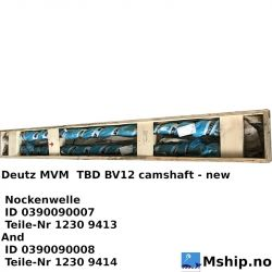Deutz MWM TBD BV12 camshaft new - httpd://mship.no