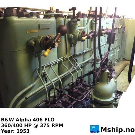 B&W Alpha 406 FLO https://mship.no