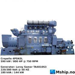 Crepelle 4PSN3L
