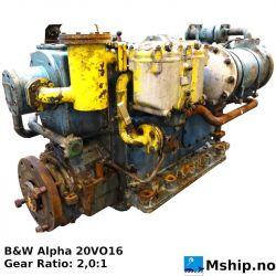 B&W Alpha 20VO16 gear