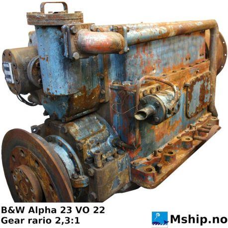 B&W Alpha 23 VO 22 gear. https://mship.no
