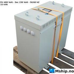 Polylux / Transmotor - 33 kVA 400 Volt / 230 Volt transformer 33 kVA