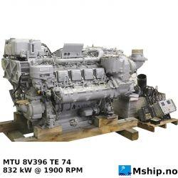 MTU 8V396 TE 74 https:/mship.no