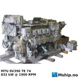 MTU 8V396 TE 74