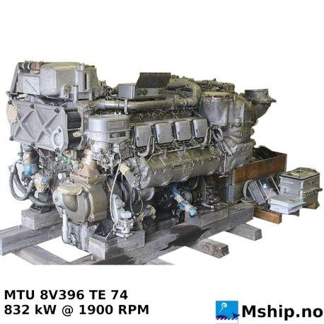 MTU 8V396 TE 74 https://mship.no