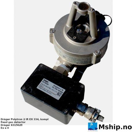 Dräger Polytron 2 IR fixed gas detector 8315629