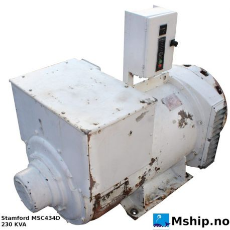 Stamford MSC434D 230 KVA generator https://mship.no