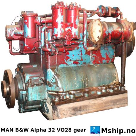 MAN B&W Alpha 32VO28 gear https://mship.no