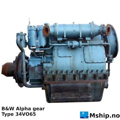 B&W Alpha gear type 34VO65