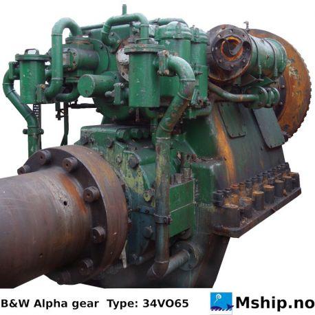 B&W Alpha gear Type: 34VO65 https://mship.no
