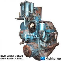 B&W Alpha 39KV8 gear