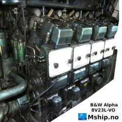 B&W Alpha 8V23L-VO