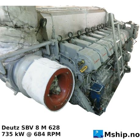 Deutz SBV 8 M 628 https://mship.no