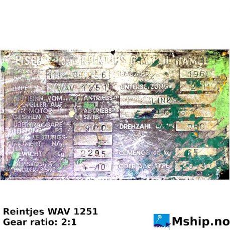 Reintjes WAV 1251 https://mship.no