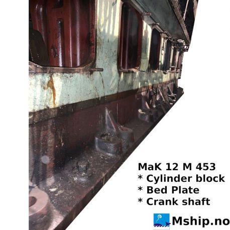 MaK 12 M 453 bedplate