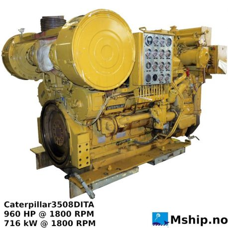 Caterpillar3508DITA Arr. 2W8860 https://mship.no