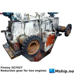 Finnoy 2G7027 - Reduction gear for two engines