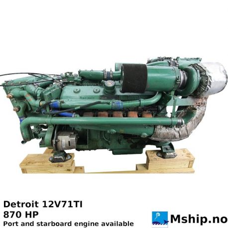 Detroit 12V71TI https://mship.no
