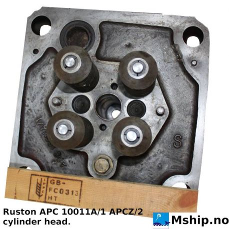 Ruston APC 10011A/1 cylinderhead https://mship.no