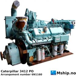 Caterpillar 3412 PC