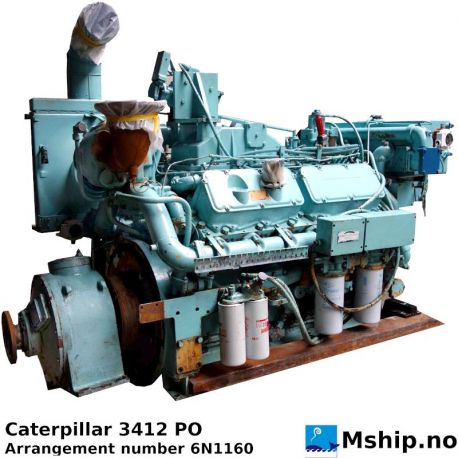 Caterpillar 3412 PO https://mship.no