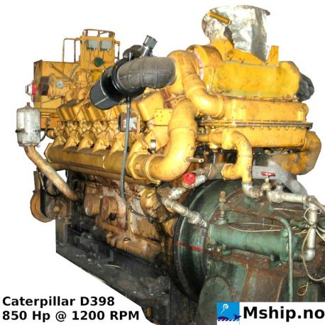 Caterpillar D398 https://mship.no