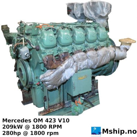 Mercedes OM 423 V10 https://mship.no