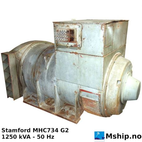 Stamford Type MHC 734 G2 1250 kVA - 50 Hz https://mship.no