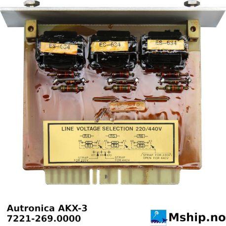 Autronica AKX-3 https://mship.no