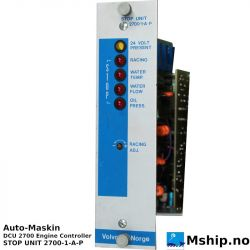 Auto-Maskin DCU 2700 Engine Controller https://mship.no