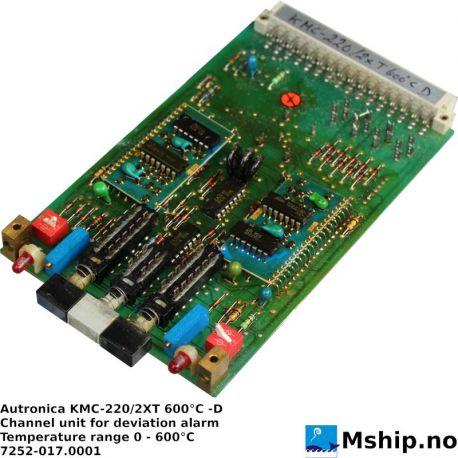 Autronica KMC-220/2XT 600°C -D https://mship.no