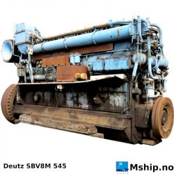 Deutz SBV 8 M 545 https://mship.no