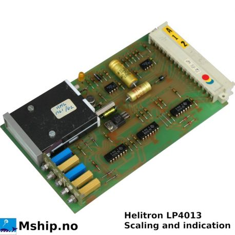 Liiaen HELITRON LP4013 Scaling and indication card https://mship.no