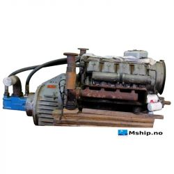 Deutz F10L413 F with Vickers 4535V42A38-1CC22R hydraulic pump