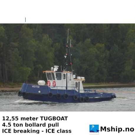 12,55 meter TUGBOAT - ICE class https://mship.no