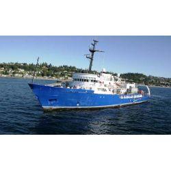 Oceanographic research vessel