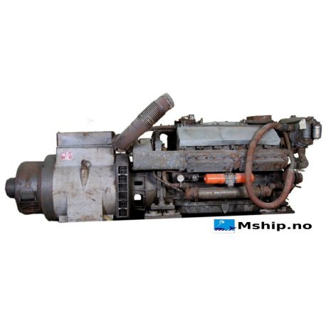 210 kVA Stamford Generator set MC 504B with engine MWM TD232 V12