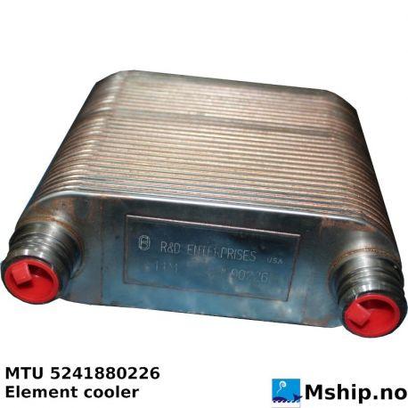 Element Cooler MTU 5241880226 https://mship.no