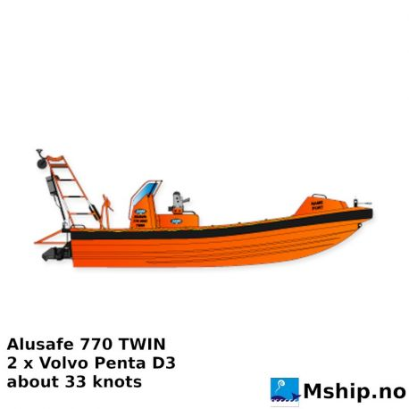 Alusafe 770 Twin with two Volvo Penta D3 https://mship.no