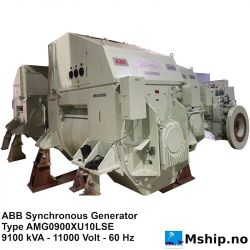 ABB Synchronous Generator - 9100 kVA