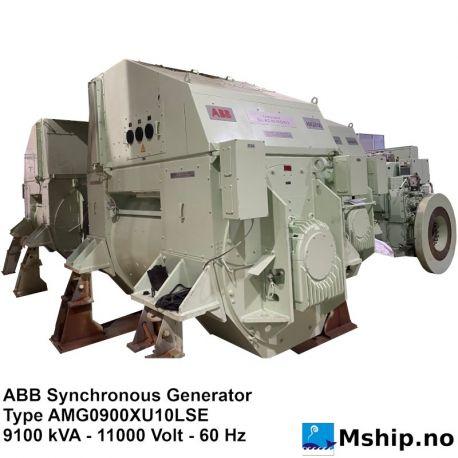 ABB Synchronous Generator - 9100 kVA https://mship.no