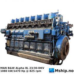 MAN B&W Alpha 8L 23/30-DKV https://mship.no