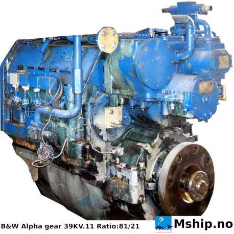 B&W Alpha 39KV.11 gear https://mship.no