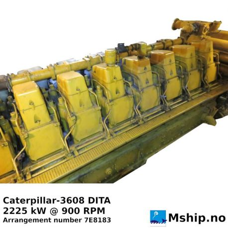 Caterpillar 3608 DITA https://mship.no