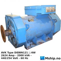 AVK Type DIDBN121 | /4W 2000 kVA
