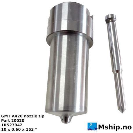 GMT A420 nozzle tip - Part 20020 1R527942 10 x 0.60 x 152 https://mship.no
