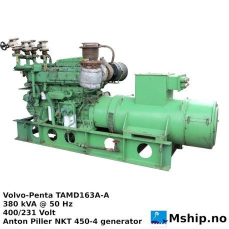 Volvo Penta TAMD163A-A 380 kVA generator set https://mship.no