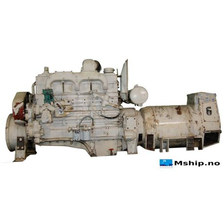 175 kVA DAE generator set with Cummins N-855-M diesel engine