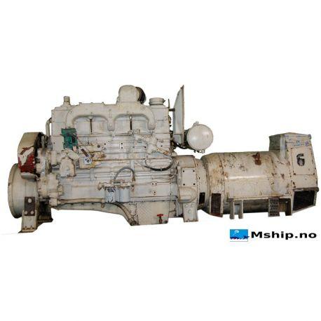 175 kVA DAE generator set with Cummins N-855-M diesel engine
