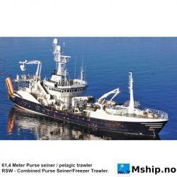 61,4 Meter Purse seiner / pelagic trawler - FORCED SALE